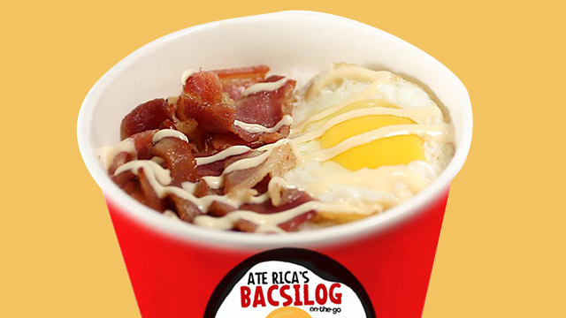 cheap food delivery - ate rica's bacsilog