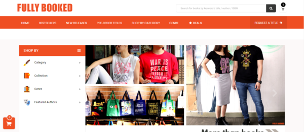 Online Shopping Sites Philippines - Fully Booked