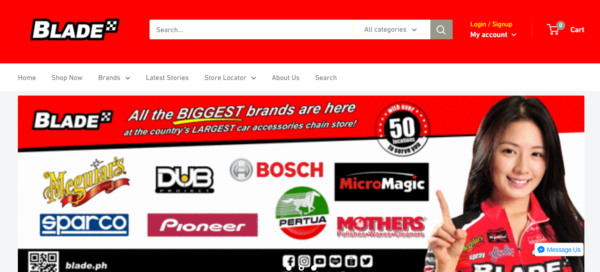 Online Shopping Sites Philippines - Blade