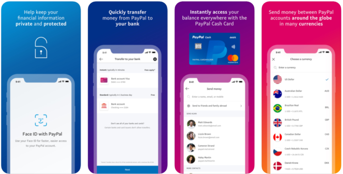 mobile wallet - paypal