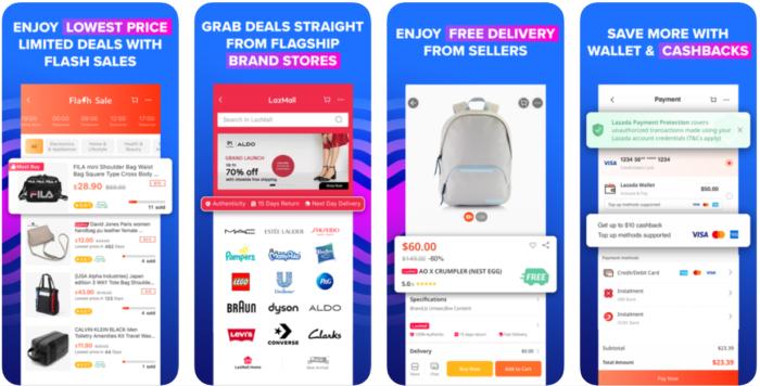 mobile wallet - lazada wallet