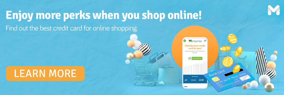 credit card for online shopping - cta
