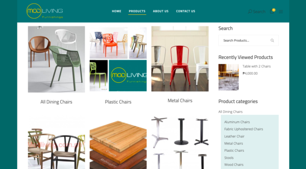 online furniture stores in the philippines - mod living furnishings
