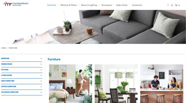 online furniture stores in the philippines - mandaue foam