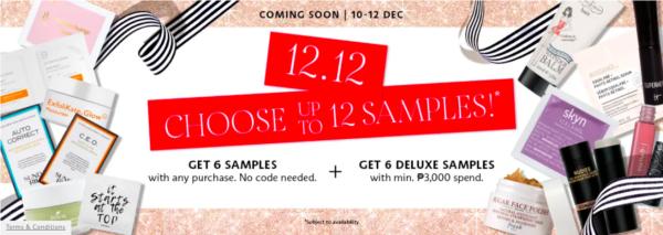online sales december 2020 - sephora 12.12 sale