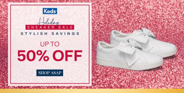 online sales december 2020 - keds holiday deals