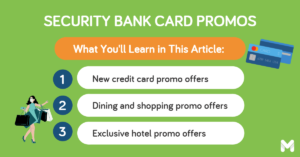 security bank credit card promo l Moneymax