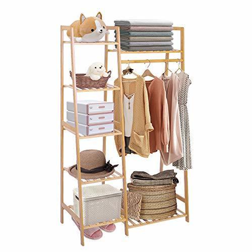 christmas gift ideas - bamboo clothes rack