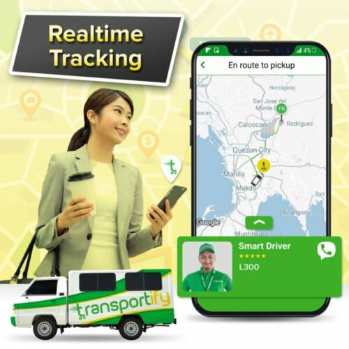 transportify app guide - transportify tracking