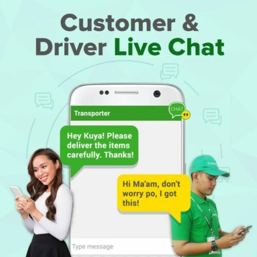 transportify app guide - transportify live chat