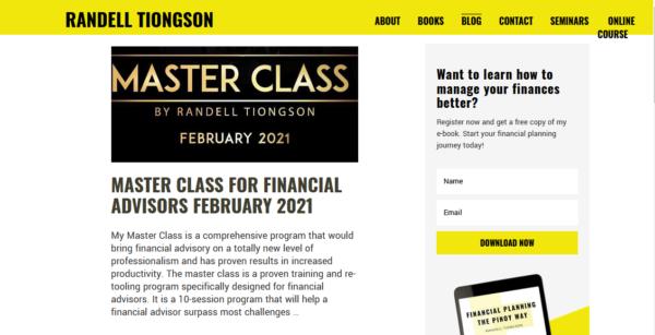 filipino financial bloggers - randell tiongson