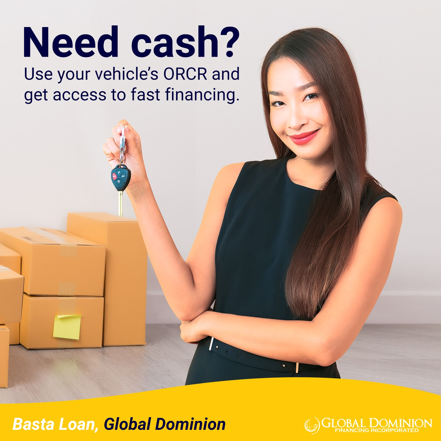 car collateral loan in the Philippines - GDFI Sangla OR/CR
