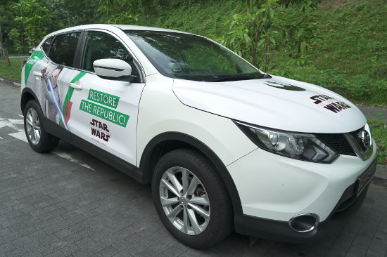 how to earn money using your car in philippines - sell ad space