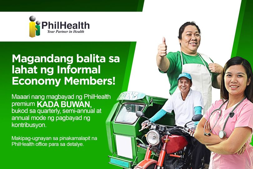 PhilHealth voluntary membership - payment schedules
