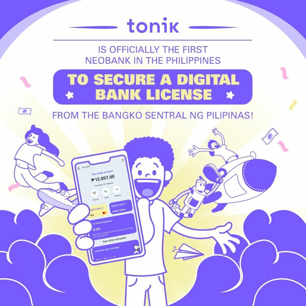 tonik bank