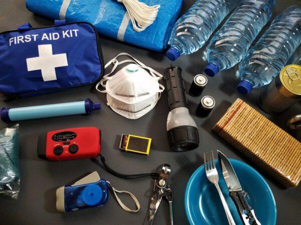 typhoon preparedness - essential and emergency supplies