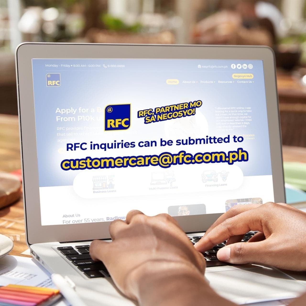 RFC loan - email address