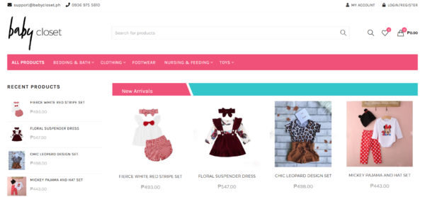 baby store in the Philippines - Babycloset.ph
