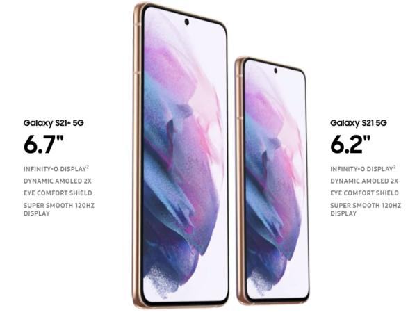 latest gadgets in 2021 - Samsung Galaxy S21