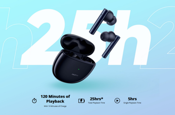 latest gadgets in 2021 - Realme Buds Air 2