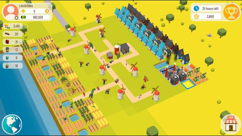 crypto games - town star