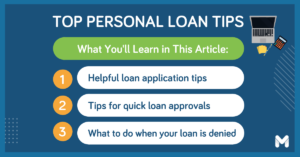 personal loan tips l Moneymax