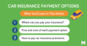 where to pay car insurance l Moneymax