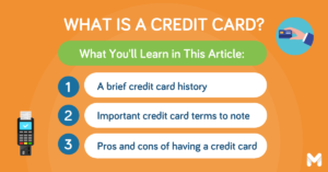 what is a credit card l Moneymax