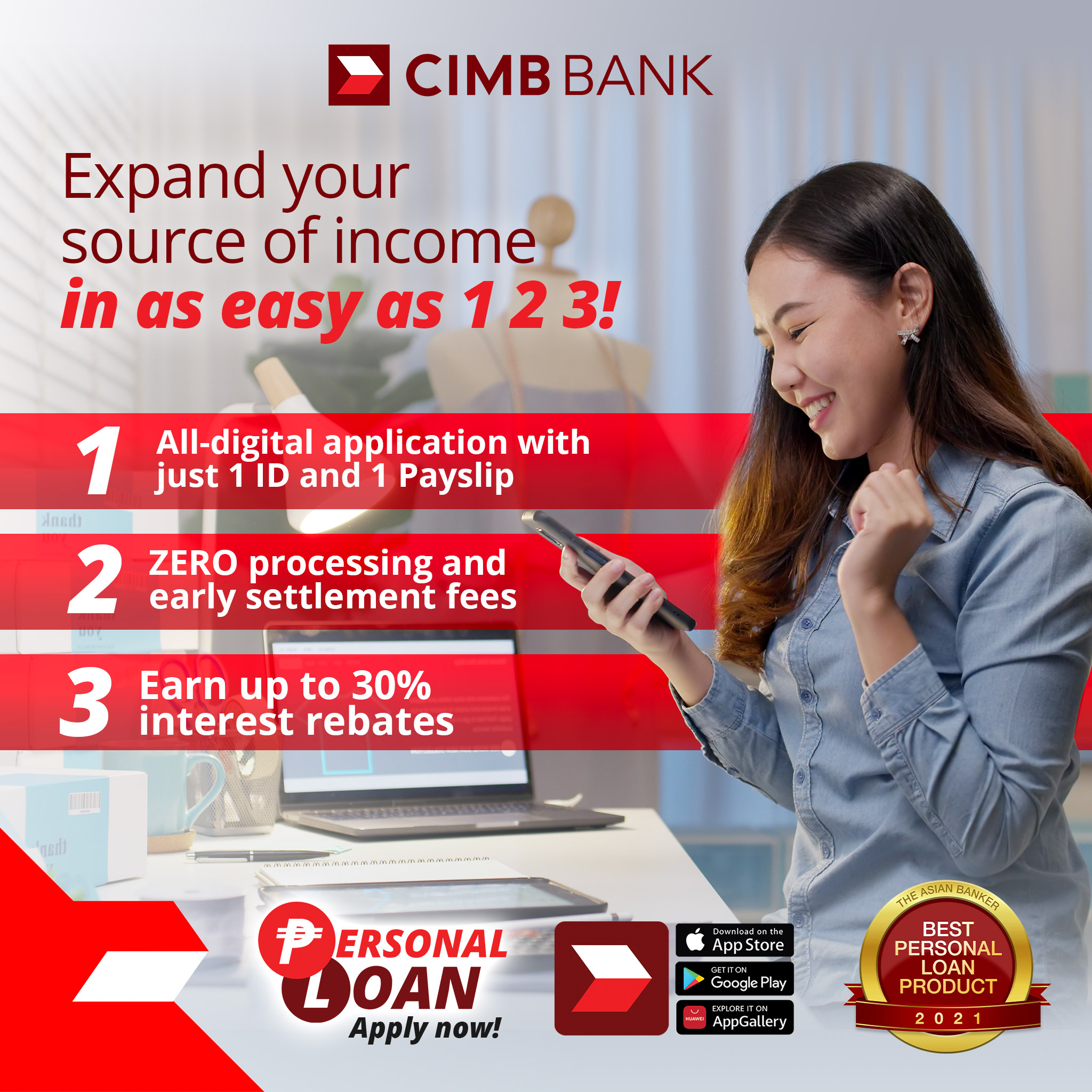how to apply for a CIMB personal loan - FAQs