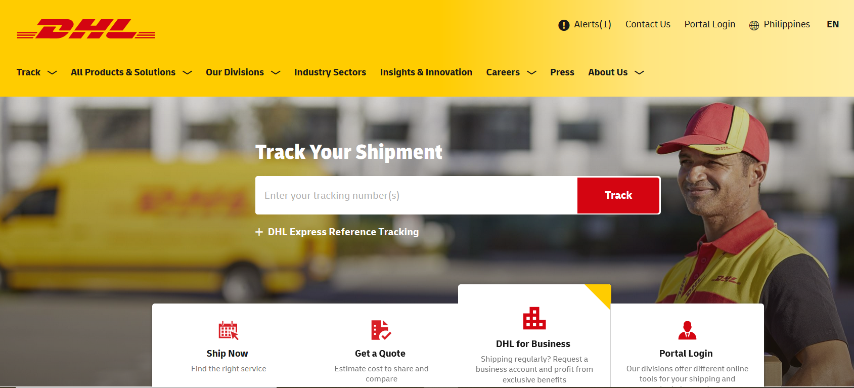 courier services in the philippines - DHL