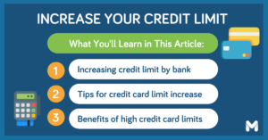 how to increase credit limit l Moneymax