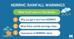 NDRRMC alert l Moneymax