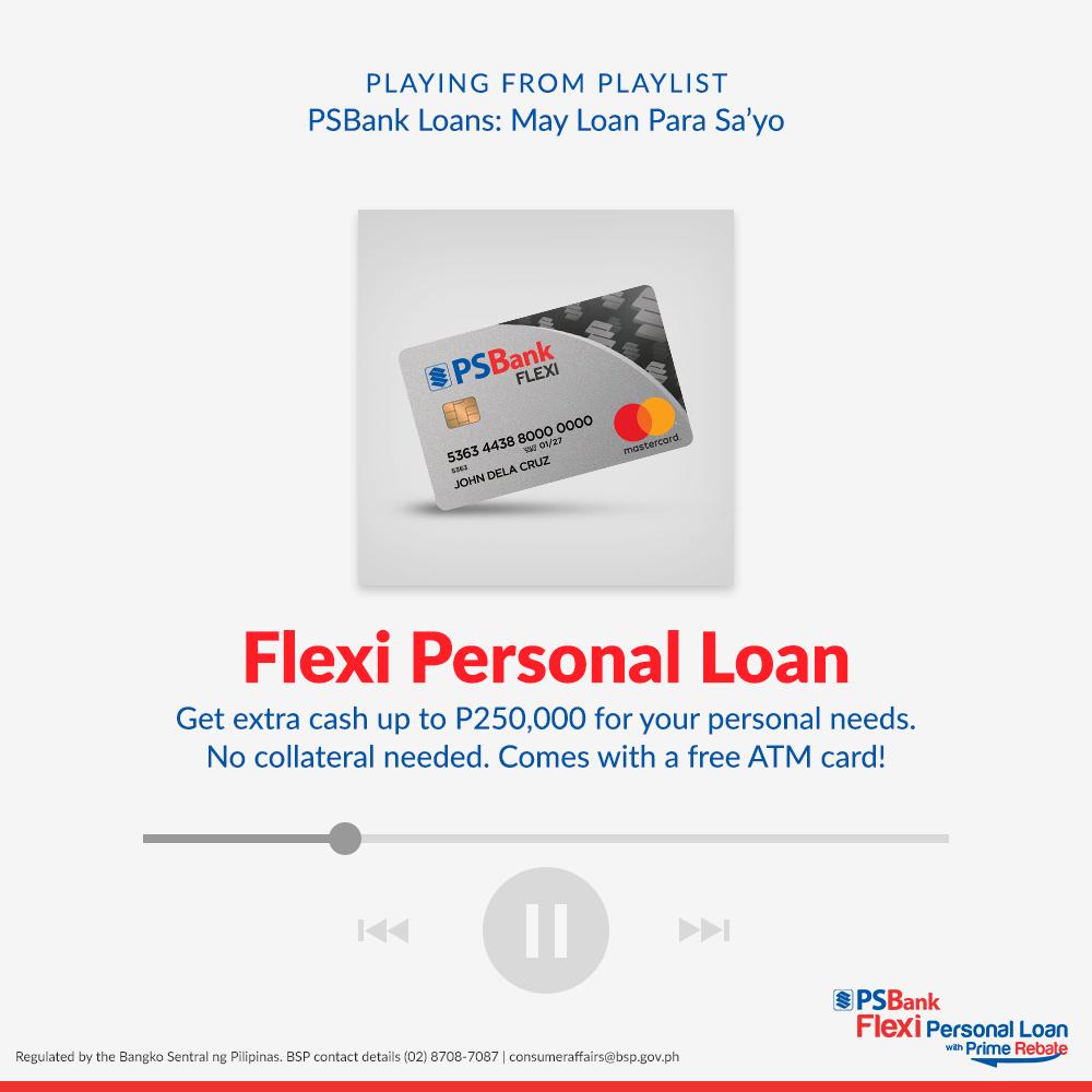 PSBank Flexi loan - up to 250k loan amount