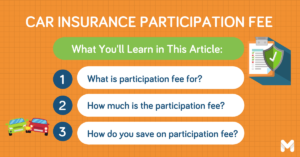 participation fee for car insurance l Moneymax
