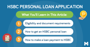 hsbc personal loan application   Moneymax