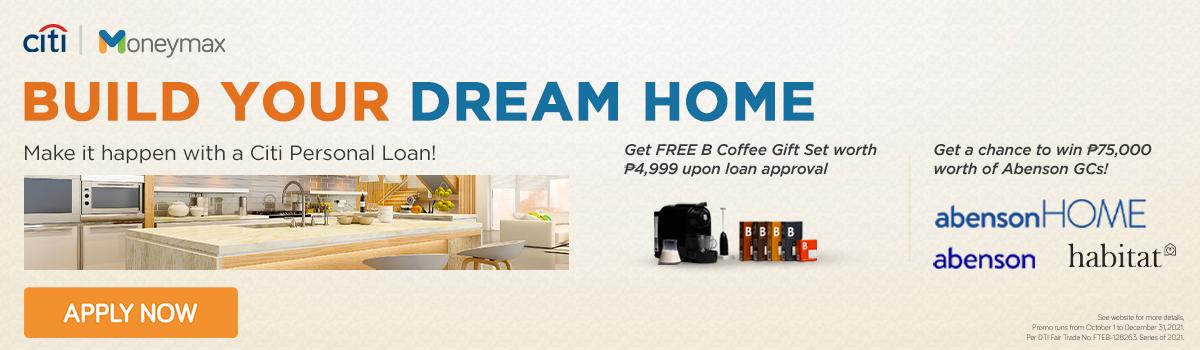 Moneymax and Citi Personal Loan Promo: Win ₱75,000 Abenson GCs!