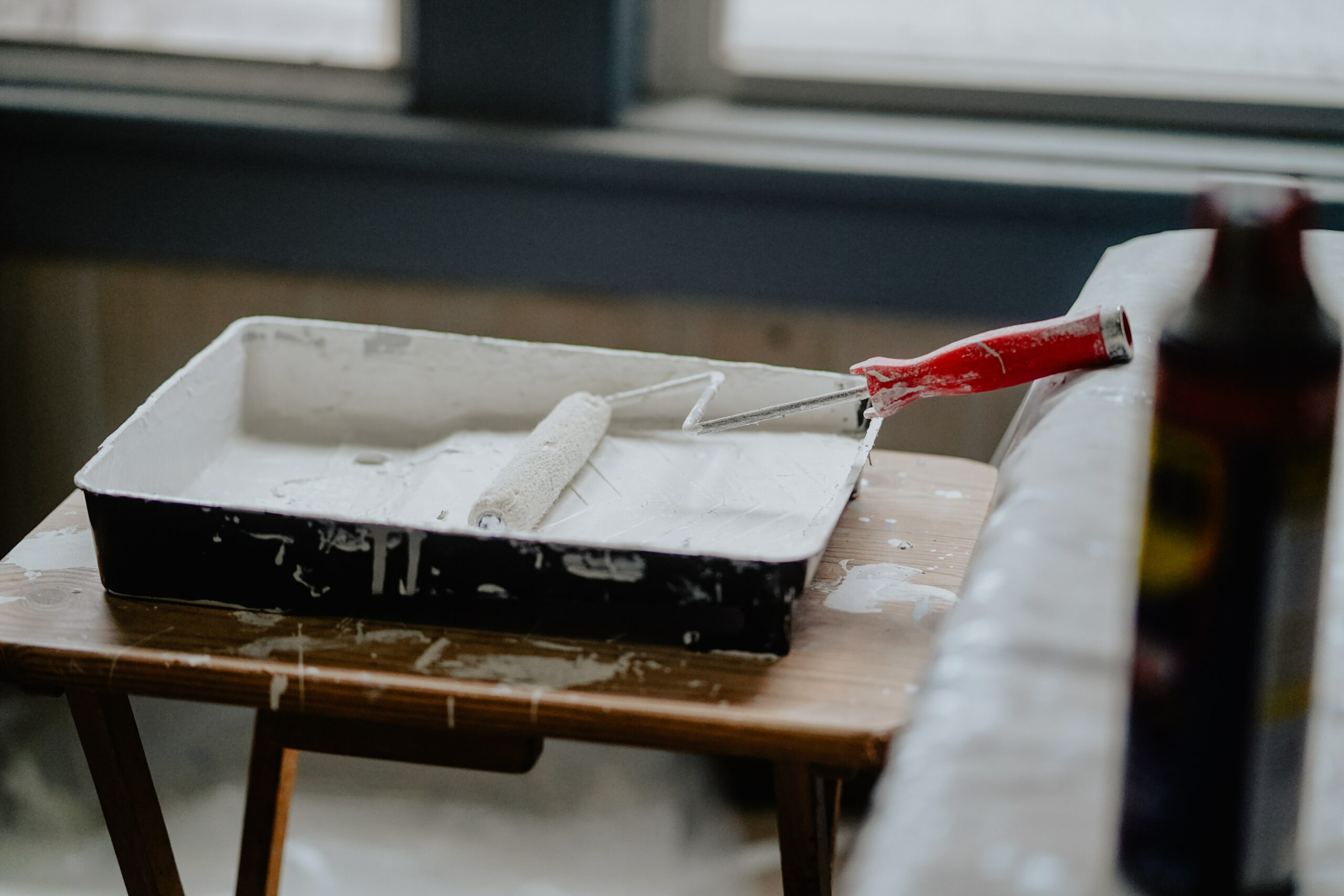 home remodeling steps - paint