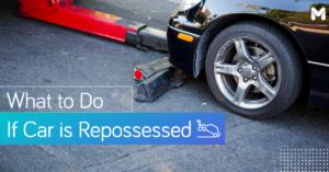 repossessed car | Moneymax