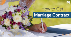 marriage contract in the philippines | Moneymax